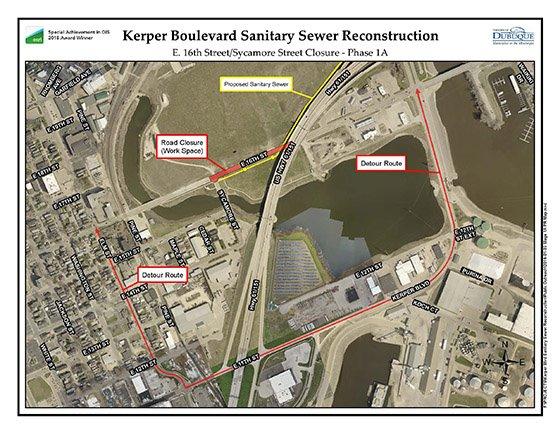 Thumbnail Image of Detour Map