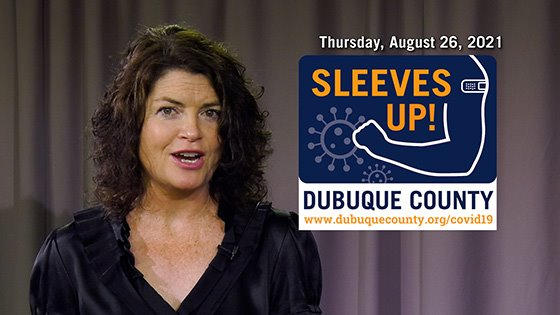 Dubuque County COVID Update Video Thumbnail Image