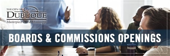 Boards and Commissions Openings Header