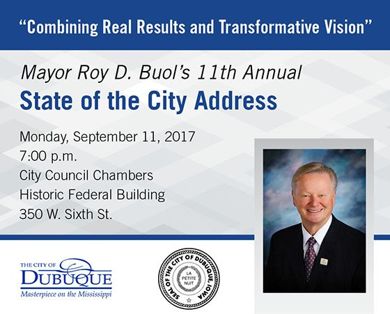 State of the City Address Invite Graphic