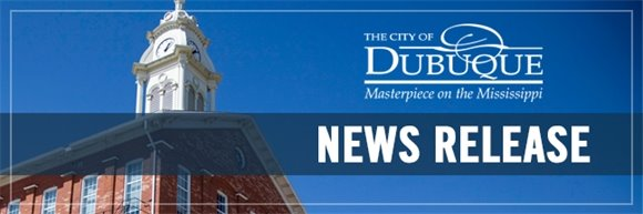 City of Dubuque News Release Header Graphic