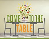 Come to the Table Graphic