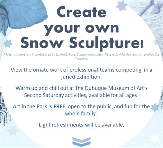 Create your own snow sculpture for free!
