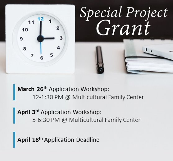 Special Project Grant