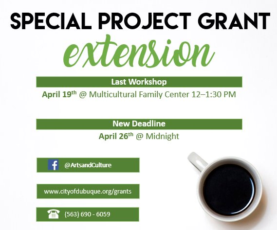 Special Project Grant Extension