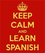 Keep Clam and Learn Spanish