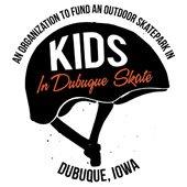 KIDS in Dubuque Skate logo
