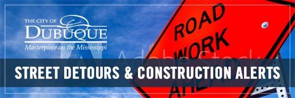 Street Detours & Construction Alerts Graphic
