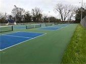 New Pickleball Courts at Veterans Memorial Park