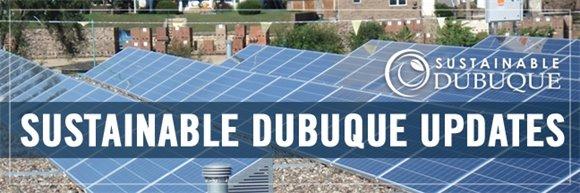 Sustainable Dubuque Updates Graphic