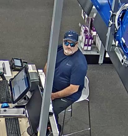 Suspect in Best Buy