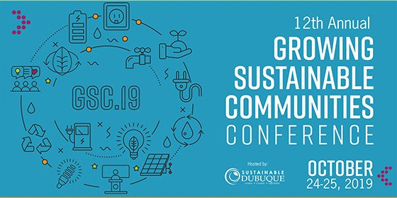 Growing Sustainable Communities Conference Header Image