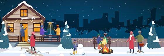 Winter Holidays Grapihc