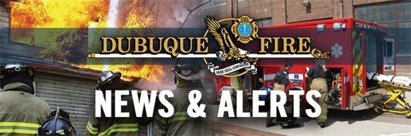 Dubuque Fire Department News Release