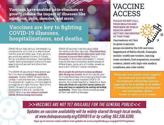 Thumbnail image of COVID Vaccine Mailer