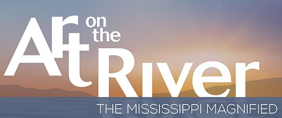 Logo for Art on the River: The Mississippi Magnified