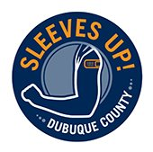 Graphic for Sleeves Up! Dubuque County