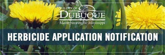 Herbicide Application Notification