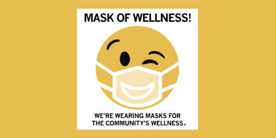 Mask of Wellness Campaign Graphic