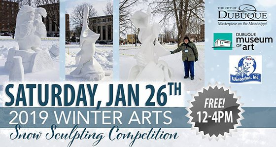 Snow Sculpting Competition Graphic
