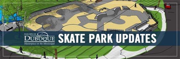 Skate Park Updates Graphic