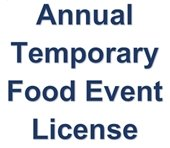 Annual Temporary Food Event License