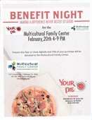 Your Pie Benefit for the MFC, Thursday, Feb. 20, 4pm-9pm