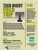 Teen Night Field Trip - African-American Art in the 20th Century