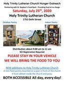 Holy Trinity Luthern Church Food Pantry