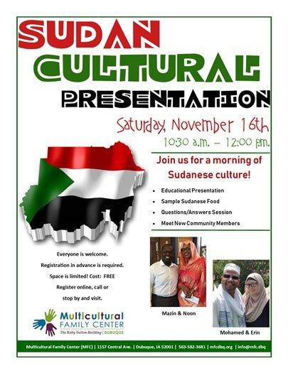 Sudan Cultural Presentation