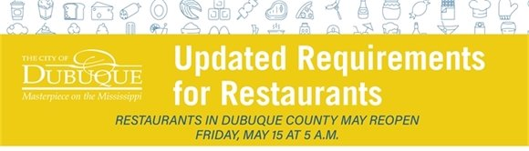 Updated Requirements for Dubuque Restaurants