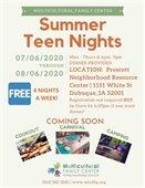 MFC Summer Teen Nights