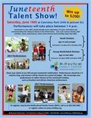 Juneteenth Talent Show