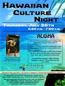 Hawaiian Culture Night