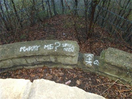 Eagle Point Park Graffiti