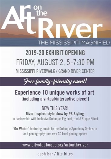 Art on the River Opening Event Invite