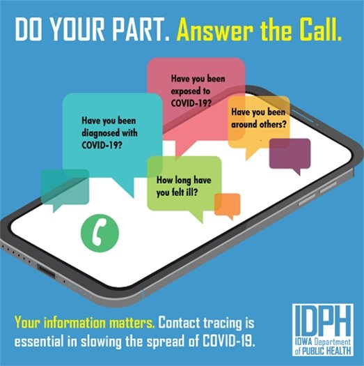 Do Your Part - Answer the Contact Tracing Call
