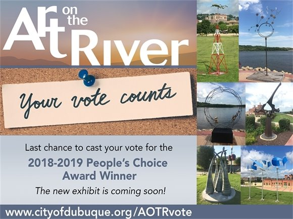Vote for your favorite from the 2018-2019 Art on the River Exhibit!