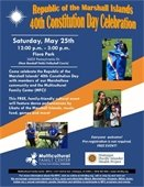Marshall Island Constitution Day Event