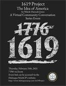 1619 Project - Virtual Community Conversation Series Event