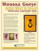 Artist Meet & Greet - Moussa Gueye