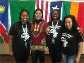 Celebrate Africa UD Students