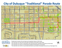Traditional Parade Route