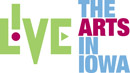 Live the Arts in Iowa logo