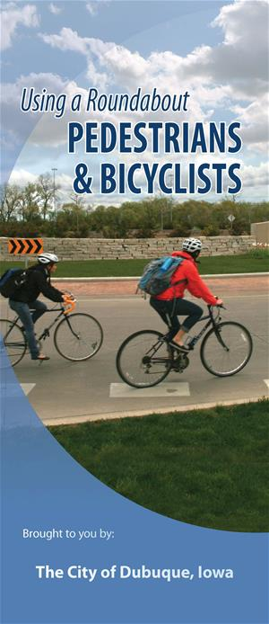 Roundabouts - Pedestrians and Bicyclists Brochure