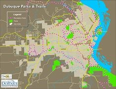 Parks and Trails - City of Dubuque