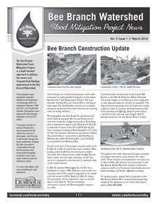 Bee Branch Newsletter_March 2016_Thumbnail