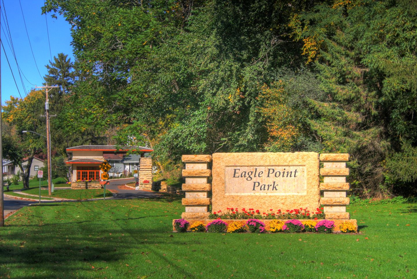 Eagle Point Park Sign