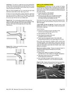 Wisconsin CDL Manual Info on Roundabouts
