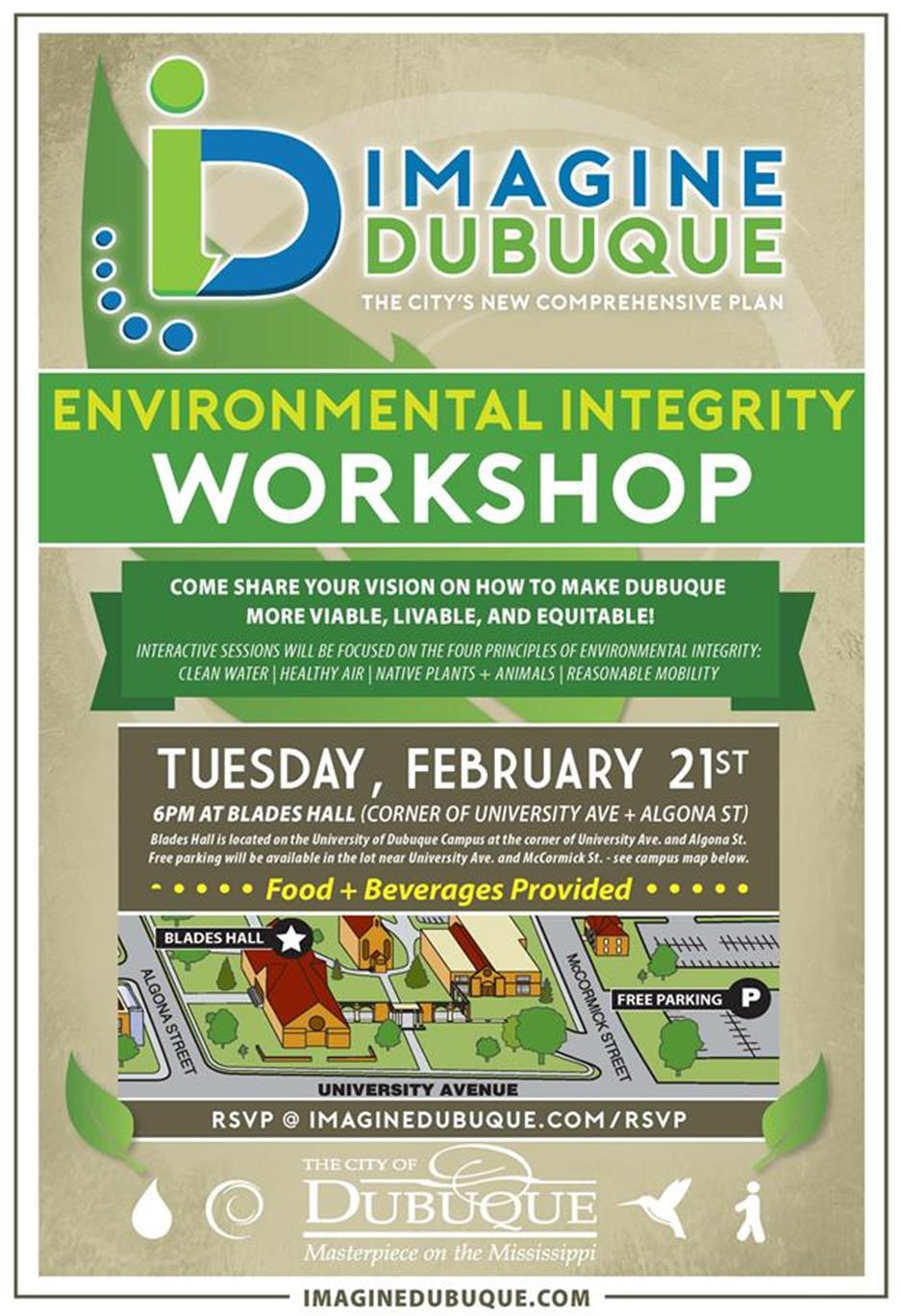 ecological integrity workshop flyer